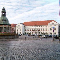 Am Marktplatz Wismar