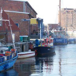 Fischerboote am alten Hafen